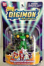 "BANDAI DIGIMON  ""MegaGuardromon"" SEASON 3 Digital Monsters 1997 RARE NEW!!"