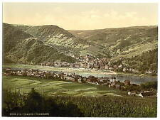 Traben Trarbach Moselle Valley Of A4 Photo Print