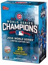 Chicago Cubs 2016 World Series Champions Topps Limited Edition Team Box Set