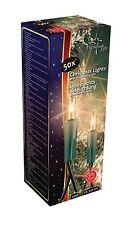 GUIRLANDE LUMINEUSE BLANCHE FLEXIBLE ECLAIRAGE FETE NOEL 50 AMPOULES A LED