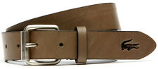 Belt LACOSTE Leather VEAL OPAQUE Leather Belt rc9009-khaki