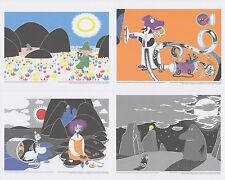 Moomin Set of 4 Posters 24 x 30 cm from Calendar Set 3 Putinki