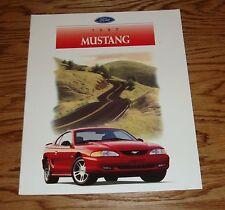 Original 1997 Ford Mustang Sales Brochure 97 GT