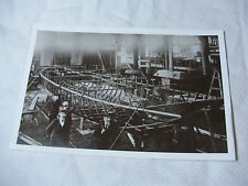 Lot31 - c1905 BOAT BUILDING ~ Real Photo Photograph