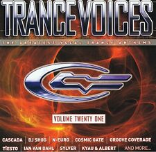 Trance Voices 21 - 2CDs NEU Limelight Cascada Starsn Stripes Cosmic Gate Sylver