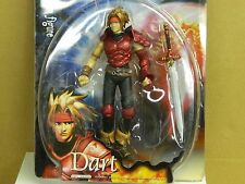"""BLUE BOX The Legend Of The Dragoon DART # 34255 Ch 2000 7"""" Action Figure VHTF:"""