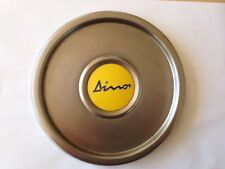 FERRARI 308 GT4 DINO Original Stainless Steel Wheel Centre Cap. Cromadora Wheel