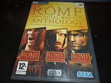 ROME TOTAL WAR ANTHOLOGY GIOCO PC