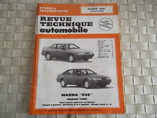REVUE TECHNIQUE MAZDA 626 TOUS TYPES ESSENCE ET DIESEL COUPE BERLINE ET BREAK