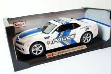 Maisto Special Edition 2010 Chevrolet Camaro SS RS Police 1:18 Diecast Car NEW