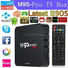 M9S Pro Smart Android 5.1 TV BOX FULLY LOADED S905 WIFI 4K Movies 2GB+16GB R9R9