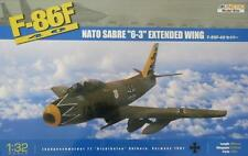 "F-86F-40 NATO SABRE ""6-3"" Extended Wing - KINETIC PLASTIC KIT 1/32"