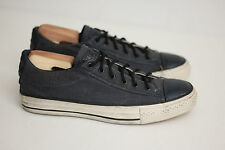 NEW Chuck Taylor Converse John Varvatos Coated Canvas Low Top Blue Ink 7US (Y88)