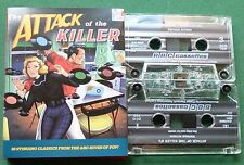 Attack Of the Killer B's Yardbirds Them Elvis Monkees + Cassette Tape x 2 TESTED