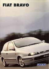 Fiat Bravo 1995-96 UK Market Launch Foldout Sales Brochure 1.4 S SX 1.8 HLX