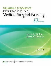 Brunner and Suddarth's Textbook of Medical-Surgical Nursing by Kerry H....