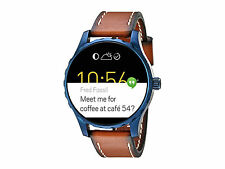 Fossil Q Marshal Touchscreen Brown Leather Smartwatch FTW2106 Smart Watch Classy