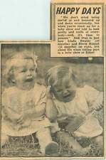 1953 Linda Swaine And David Hassell Taking Part Baby Show Esher