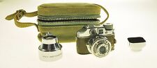 Vintage Toko Mighty Sub Subminiature Camera Complete Set - Case - Lens - Hood -