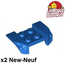 Lego - 2x vehicle mudguard garde boue 2x4 Headlights phare bleu/blue 44674 NEUF