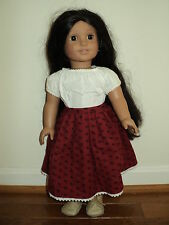 """18"""" Full Size American Girl Josefina Brown Hair Brown Eyes W/Outfits Excellent"""