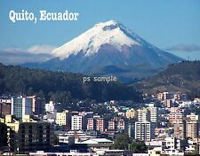 Ecuador - QUITO - Travel Souvenir Fridge Magnet