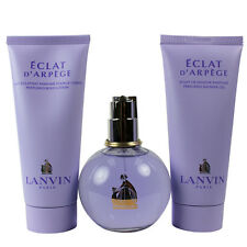 Eclat D'Arpege by Lanvin for Women Set-EDP 3.3oz + BL 3.3oz + SG 3.3oz Shopworn