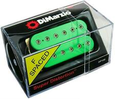 DIMARZIO DP100 Super Distortion Humbucker Guitar Pickup GREEN, F-Spaced