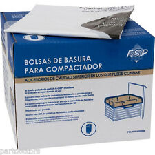 NEW 60 Pack Whirlpool 15 Inch Plastic Trash Compactor Bags W10165294RB 4318922