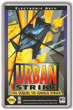 URBAN STRIKE SEGA MEGA DRIVE FRIDGE MAGNET IMAN NEVERA