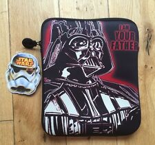 "STAR WARS DARTH VADER TABLET/IPAD/DVD CASE 8 ""X 10"" 'I AM YOUR FATHER'"