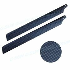 325mm Carbon Fiber Main Blade for Align T-Rex 450 Series RC helicopter F