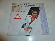 "STEVIE WONDER - Don't Drive Drunk - Scarce 1984 UK 7"" Juke Box vinyl single"
