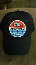 Vintage Airstream Travel Trailer Hat cap W patch applique RV camping bicycle