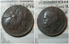 Regno d' Italia Vittorio Emanuele III 10 Centesimi Ape 1925