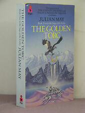 1st UK, signed by author, Saga of Pliocene Exile 2:The Golden Torc by Julian May