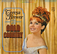 """TERESA BREWER """"GOLD COUNTRY"""" COUNTRY POP VOCAL LP 60'S PHILIPS 600-216 STEREO"""