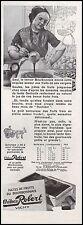 Publicité CHATEAU ROBERT VICHY  Pates de Fruits  vintage print ad   1931 - 10h