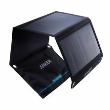 Anker 21W 2-Port USB Solar Charger PowerPort Solar for iPhone 6/6 Plus, iPad Air