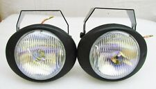 "4"" x 4.75"" OVAL/ROUND FOG DRIVING LIGHTS KIT 55 WATT PERFECT 4 GOLF CARTS 5^^AG"