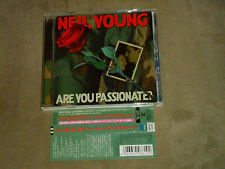 Neil Young Are You Passionate? Japan CD