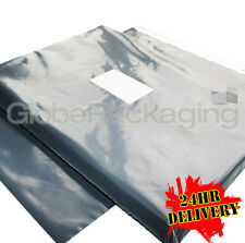 """300 x STRONG 9"""" x 12"""" GREY MAILING POSTAL BAGS 9x12"""""""