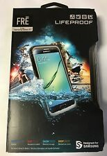 Authentic Lifeproof Waterproof Fre Case For Samsung Galaxy S7 -Black OEM NEW