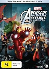 Marvel: Avengers Assemble: Season 1 NEW R4 DVD