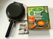Flip Jack As Seen on TV Orgreenic Ceramic Green NonStick Cookware Pancake maker