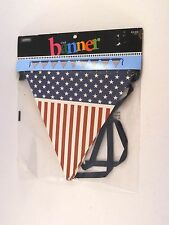 Patriotic Red White Blue Flag Banner 4th of July Veterans Day Party decoration