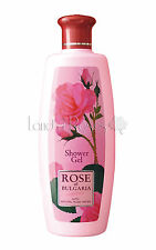 ROSE OF BULGARIA NATURAL SHOWER GEL WITH BULGARIAN ROSE WATER