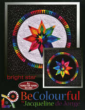BRIGHT STAR QUILT PATTERN, Foundation Paper Piecing From Becolourful NEW