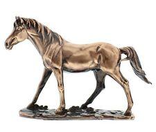 Juliana Classic Polished Copper Bronze Horse Figurine Sculpture