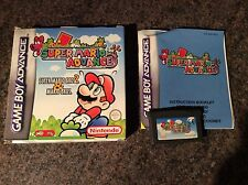 Super Mario Advance Gameboy Advance! Complete! Look At My Other Games!